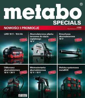 Promocja Metabo Specials