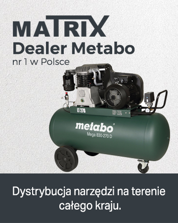 Matrix - dealer Metabo nr 1 w Polsce