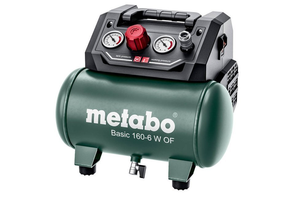 Metabo Basic 160-6 W OF Kompresor sprężarka 6 l