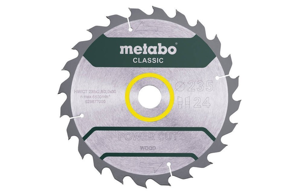 Metabo Tarcza Power Cut Wood Classic 235x30 24z