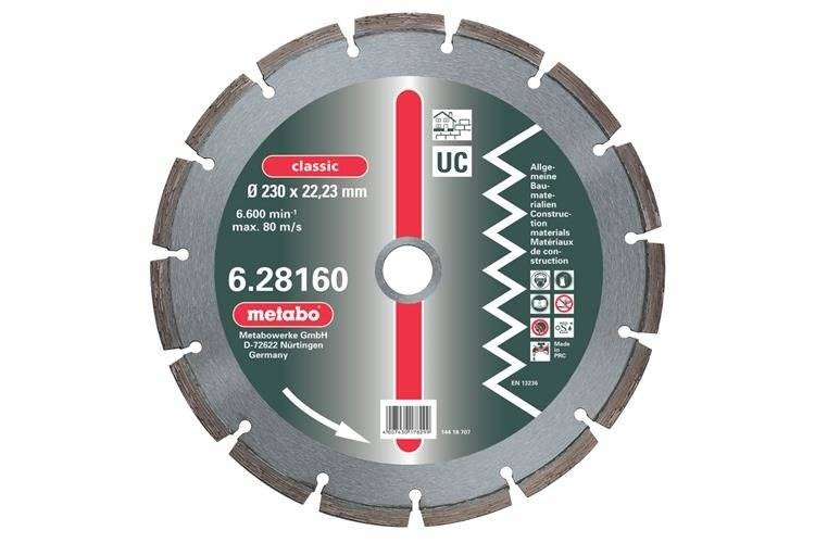 Metabo Tarcza diament. 115x2,15x22,23mm 628156000