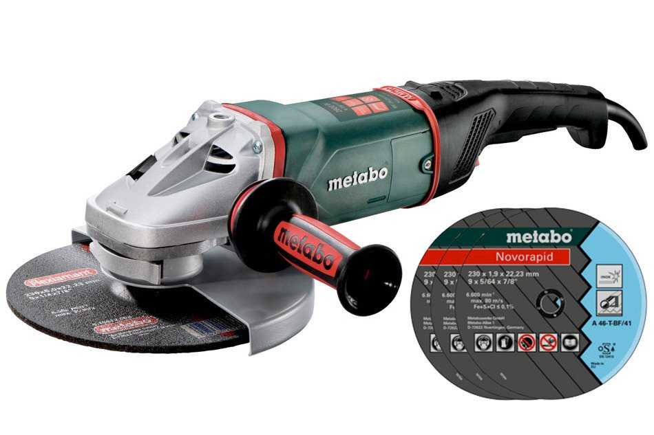 Metabo WE26-230 MVT Quick Szlifierka kątowa Gratis