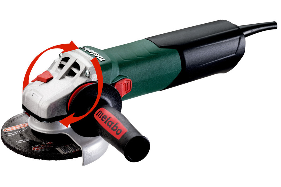 Metabo WE 17-125 Quick Szlifierka kątowa +Gratis