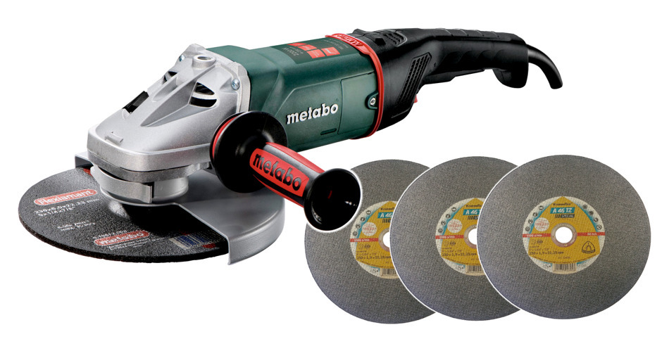 Metabo WE22-230 MVT Szlifierka kątowa 2200W Gratis